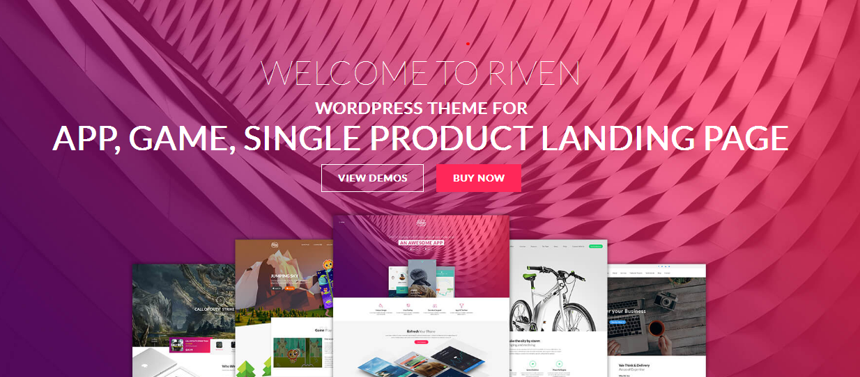 Name:  Riven   WordPress Theme for App  Game  Single Product Landing Page.png