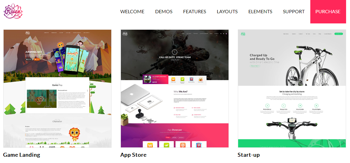Name:  Riven   WordPress Theme for App  Game  Single Product Landing Page Preview   ThemeForest(1).png