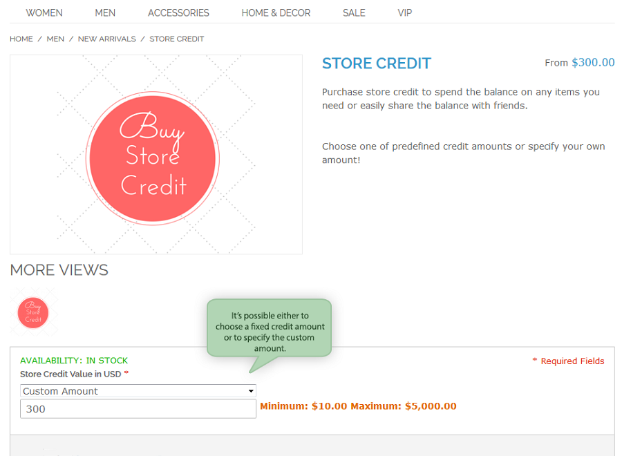 Name:  magento-store-credit-product-page.png
